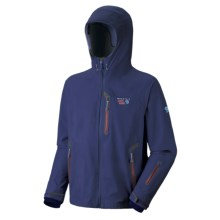 Mountain Hardwear Snowtastic Dry.Q Elite Jacket - Waterproof, Soft Shell (For Men) in Sapphire - Closeouts