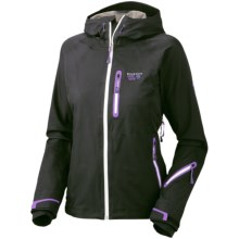 Mountain Hardwear Snowtastic Dry.Q Elite Jacket - Waterproof, Soft Shell (For Women) in Black - Closeouts