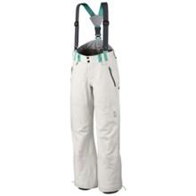 Mountain Hardwear Snowtastic Dry.Q® Elite Pants - Waterproof, Soft Shell (For Women) in Sea Salt - Closeouts