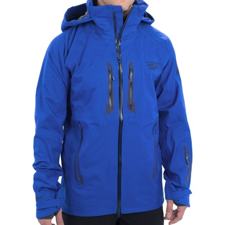 Mountain Hardwear Snowtastic Dry.Q® Elite Soft Shell Jacket - Waterproof (For Men) in Azul/Collegiate Navy
