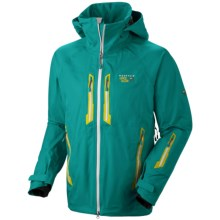 Mountain Hardwear Snowtastic Dry.Q Elite Soft Shell Jacket - Waterproof (For Men) in Sea Level - Closeouts