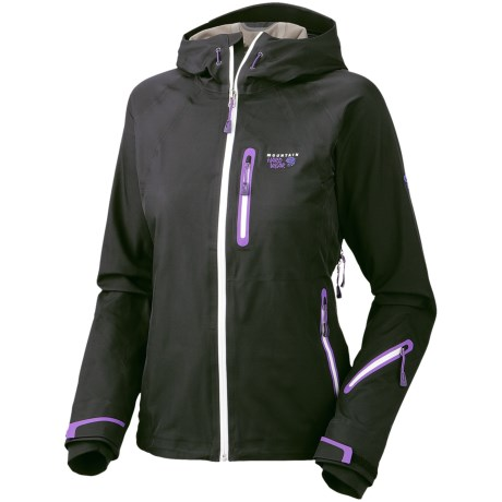 Mountain Hardwear Snowtastic Dry.Q Elite Soft Shell Jacket - Waterproof (For Women) in Black