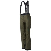 Mountain Hardwear Snowtastic Dry.Q® Elite Soft Shell Pants (For Women) in Stone Green - Closeouts