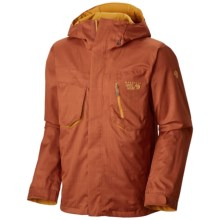 Mountain Hardwear Snowzilla Dry.Q® Core Jacket - Waterproof (For Men) in Dark Adobe - Closeouts