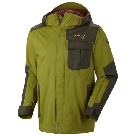 Mountain Hardwear Snowzilla Dry.Q® Core Jacket - Waterproof (For Men) in Elm