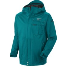 Mountain Hardwear Snowzilla Dry.Q Core Jacket - Waterproof (For Men) in Sea Level - Closeouts