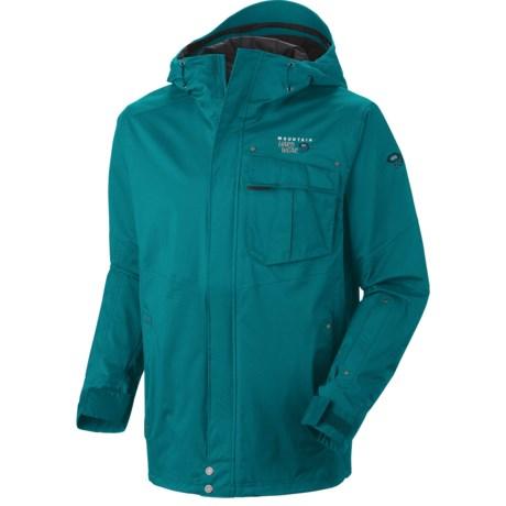 Mountain Hardwear Snowzilla Dry.Q® Core Jacket - Waterproof (For Men) in Sea Level