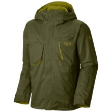 Mountain Hardwear Snowzilla Dry.Q® Core Jacket - Waterproof (For Men) in Utility Green - Closeouts