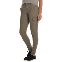Mountain Hardwear Sojourner Twill Cargo Pants (For Women) in Stone Green - Closeouts