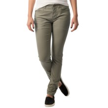 Mountain Hardwear Sojourner Twill Pants (For Women) in Stone Green - Closeouts