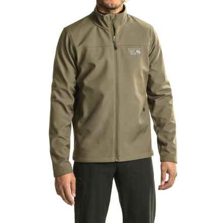Mountain Hardwear Solamere Jacket (For Men) in Stone Green - Closeouts
