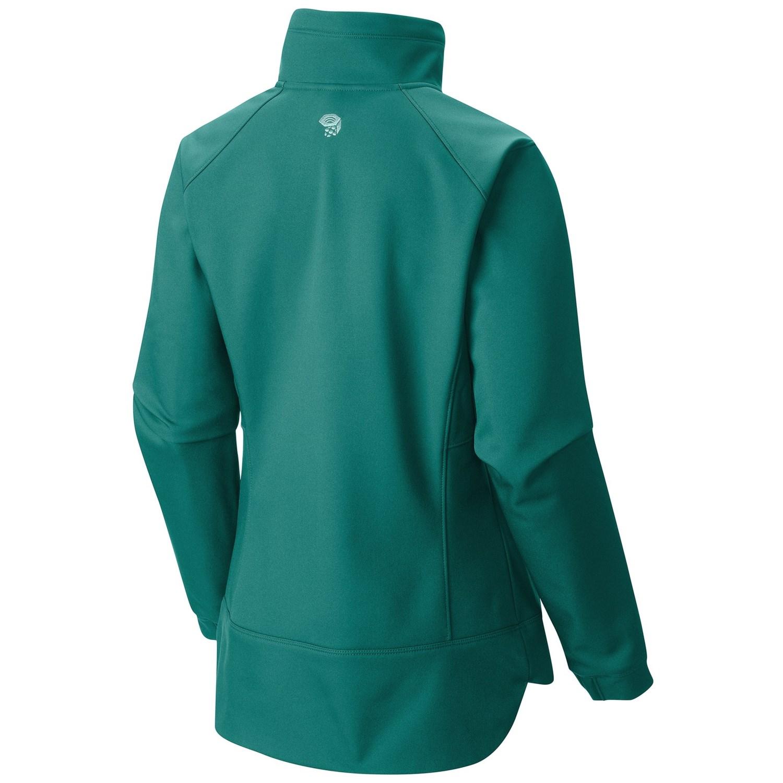 Soft shell womens jacket
