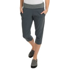 Mountain Hardwear Solidity Capris (For Women) in Graphite - Closeouts