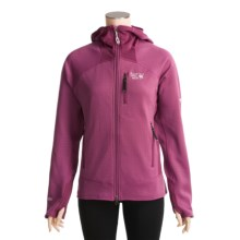 Mountain Hardwear Solidus Polartec® Power Stretch® Jacket (For Women) in Cerise - Closeouts
