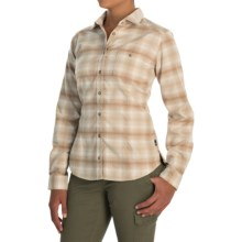Mountain Hardwear SonaLake Flannel Shirt - Long Sleeve (For Women) in Oatmeal - Closeouts