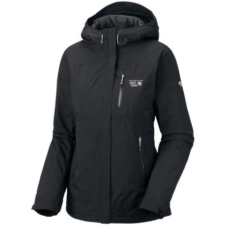 Mountain Hardwear Sooka Dry.Q Elite Jacket - Waterproof, Insulated (For Women) in Black