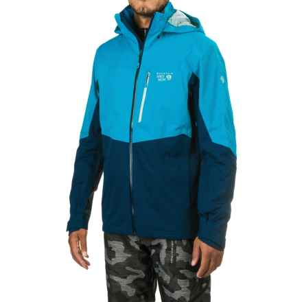 Mountain Hardwear South Chute Dry.Q® Core Ski Jacket - Waterproof (For Men) in Dark Compass/Hardwear Navy - Closeouts