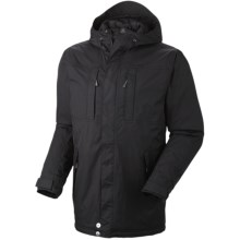 Mountain Hardwear South Cove Dry.Q® Core Waterproof Jacket - Insulated (For Men) in Black - Closeouts