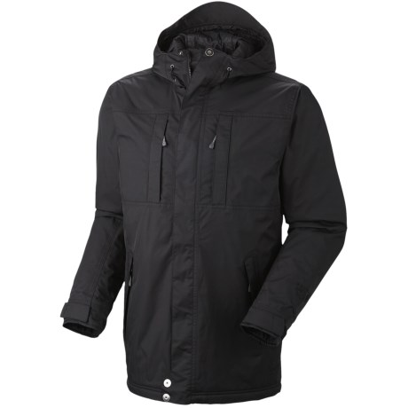 Mountain Hardwear South Cove Dry.Q Core Waterproof Jacket - Insulated (For Men) in Black