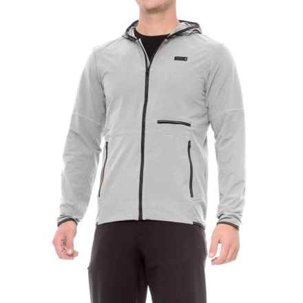 Mountain Hardwear Speedstone Hooded Jacket - UPF 50 (For Men) in Grey Ice - Closeouts