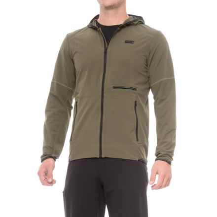 Mountain Hardwear Speedstone Hooded Jacket - UPF 50 (For Men) in Peatmoss - Closeouts