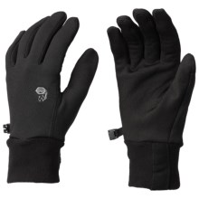 Mountain Hardwear Stimulus Stretch Gloves (For Men) in Black - Closeouts