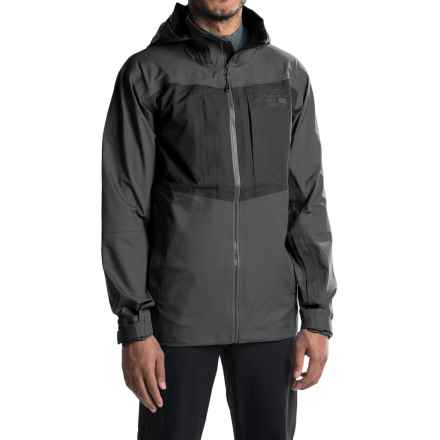 Mountain Hardwear Straight Chuter Dry.Q® Core Ski Jacket - Waterproof (For Men) in Shark - Closeouts