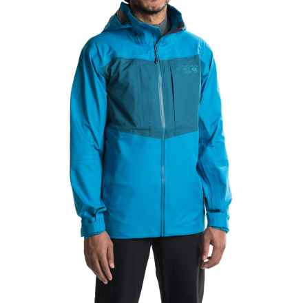 Mountain Hardwear Straight Chuter Ski Jacket - Waterproof (For Men) in Dark Compass - Closeouts