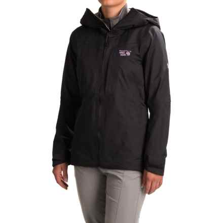Mountain Hardwear Straight Chuter Ski Jacket - Waterproof (For Women) in Black - Closeouts