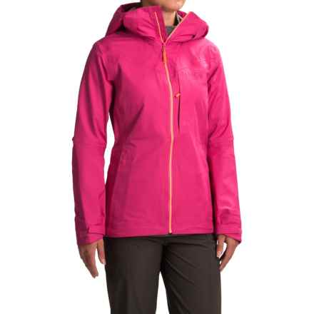 Mountain Hardwear Straight Chuter Ski Jacket - Waterproof (For Women) in Haute Pink - Closeouts