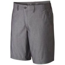 Mountain Hardwear Strayer Shorts - UPF 50 (For Men) in Shark - Closeouts
