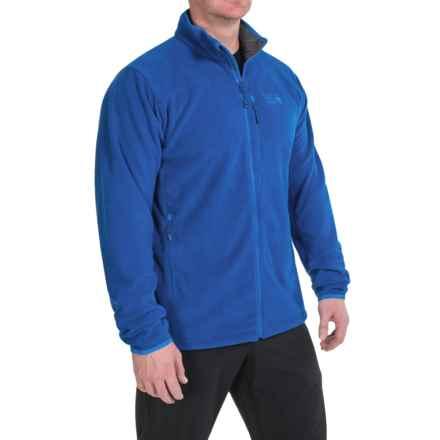 Mountain Hardwear Strecker Fleece Jacket (For Men) in Azul - Closeouts