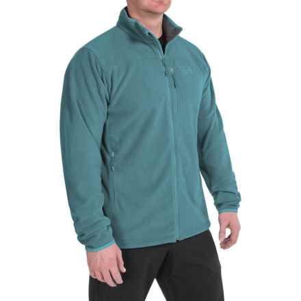 Mountain Hardwear Strecker Fleece Jacket (For Men) in Cloudburst - Closeouts