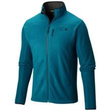 Mountain Hardwear Strecker Fleece Jacket (For Men) in Phoenix Blue - Closeouts