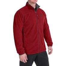 Mountain Hardwear Strecker Fleece Jacket (For Men) in Smolder Red - Closeouts