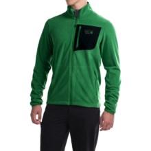 Mountain Hardwear Strecker Lite Fleece Jacket (For Men) in Serpent Green - Closeouts