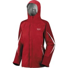Mountain Hardwear Stretch Cohesion Dry.Q Core Jacket - Waterproof (For Women) in Thunderbird Red/Red - Closeouts