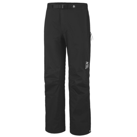 Mountain Hardwear Stretch Cohesion Pants - Waterproof (For Men) in Black