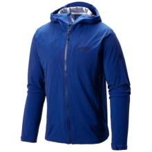Mountain Hardwear Stretch Ozonic Dry.Q® Active Jacket - Waterproof (For Men) in Azul - Closeouts
