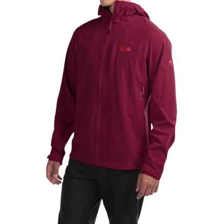 Mountain Hardwear Stretch Ozonic Dry.Q® Active Jacket - Waterproof (For Men) in Cote Du Rhone - Closeouts