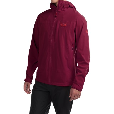 Mountain Hardwear Stretch Ozonic Dry.Q® Active Jacket - Waterproof (For Men) in Cote Du Rhone