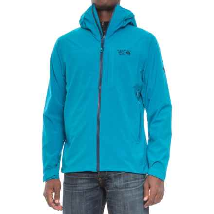 Mountain Hardwear Stretch Ozonic Dry.Q® Active Jacket - Waterproof (For Men) in Dark Compass - Closeouts
