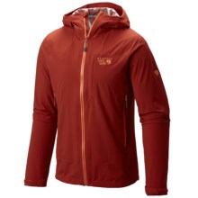 Mountain Hardwear Stretch Ozonic Dry.Q® Active Jacket - Waterproof (For Men) in Flame - Closeouts