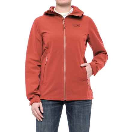 Mountain Hardwear Stretch Ozonic Dry.Q® Active Jacket - Waterproof (For Women) in Crab Legs - Closeouts