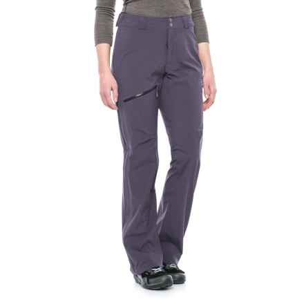 Mountain Hardwear Stretch Ozonic Pants - Waterproof (For Women) in Blurple - Closeouts