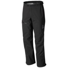 Mountain Hardwear Stretch Plasmic Dry.Q® Evap Pants - Waterproof (For Men) in Black - Closeouts