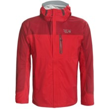 Mountain Hardwear Stretch Typhoon Dry.Q Core Jacket - Waterproof (For Men) in Bright Red - Closeouts