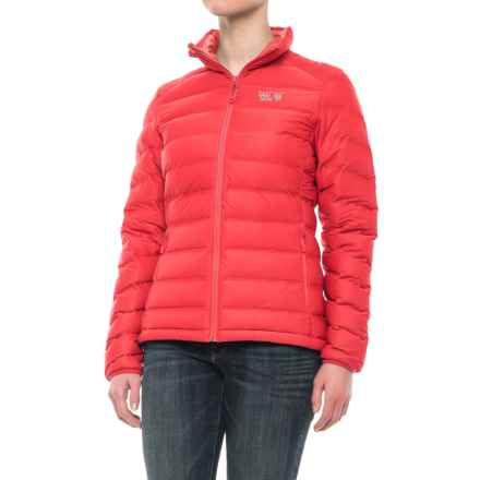 Mountain Hardwear StretchDown™ Down Jacket - 750 Fill Power (For Women) in Coral - Closeouts