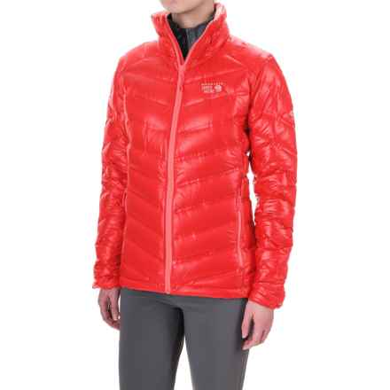 Mountain Hardwear StretchDown™ Down Jacket - 750 Fill Power (For Women) in Scarlet Red - Closeouts
