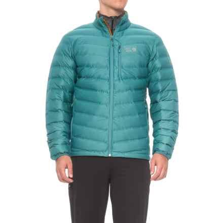 Mountain Hardwear StretchDown Q.Shield® Jacket - 750 Fill Power (For Men) in Cloudburst - Closeouts
